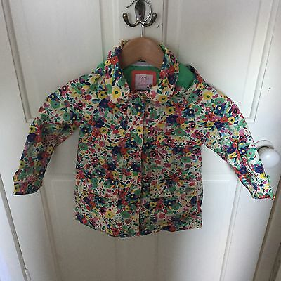 Rocha Little Rocha Girls Multicoloured Raincoat Age 2-3