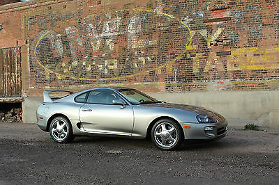 1998 Toyota Supra Twin Turbo Hatchback 2-Door 1998 Toyota Supra Twin Turbo 6 Speed QuickSilver Rare Color Collector Quality