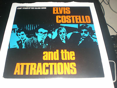 ELVIS COSTELLO - I Can't Stand Up For Falling - F BEAT UK 1980 VG+
