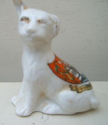 Arcadian Crested China Loppy Eared Staffordshire? Bull Terrier. Haverford West