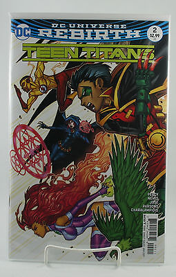 Teen Titans #2! 1st Print! Unread! DC! Rebirth! Percy Neves Jose! NM! 2016