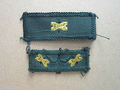 2 Gilwell Park Wood Badge Woven Cloth Patches Badges Boy Scouts Scouting