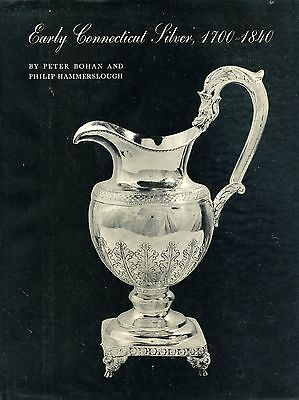Antique American Connecticut Silver 1700-1840 /  In-Depth Illustrated Book