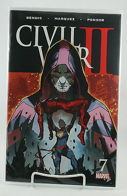 Civil War II #7! 1st Print! Unread! Marvel! Bendis Marquez Ponsor! NM! 2016