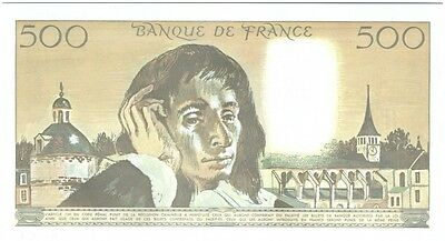 France 500 Francs Pascal - 1984 Fauté