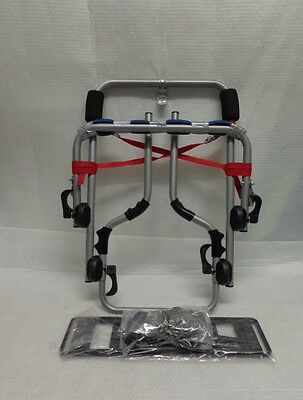 Mont Blanc rear bike spare wheel mounted 2 cycle carrier (CM08