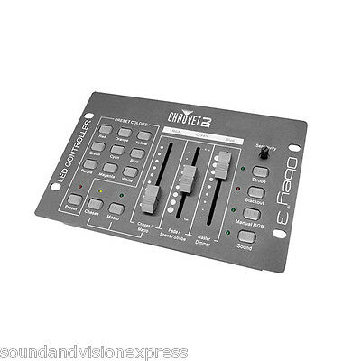 Chauvet OBEY 3 RGB DMX Lighting Controller DJ Stage Light Control 3 Channel