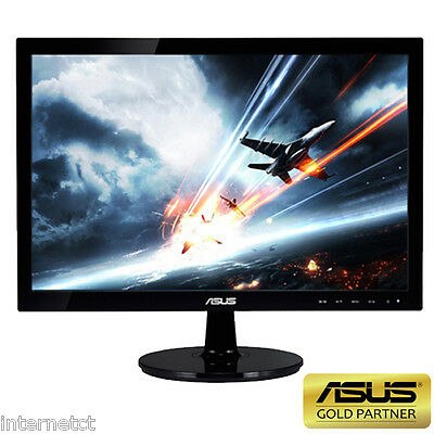 "ASUS 19"" VS197DE 5ms HIGH DEFINITION VGA LED LCD WIDESCREEN GAMING MONITOR"