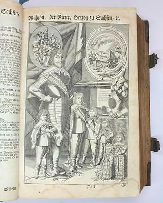 Illustrated German Martin Luther Bible Published 1770 Nurnberg Large Folio Size