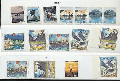 NORWAY / LOT MNH ** STAMPS.(e310)