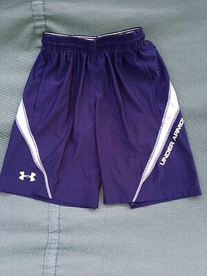 Youth Under Armor Navy Blue Shorts Size Small