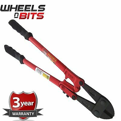 "18"" 450mm Heavy Duty Hardened Carbon Steel Bolt Cutter Tool Wire Cable Cutting"