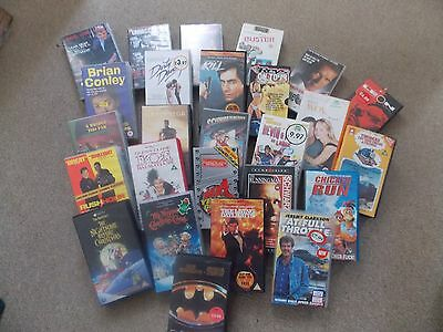 Vhs Videos  Mixed Lot Of 47