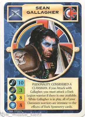 Doomtrooper: Sean Gallagher English Unlimited Edition Mutant Chronicles Ccg