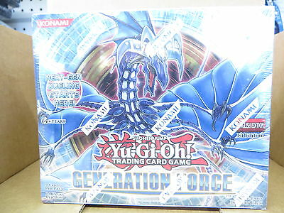 Yugioh Generation Force 1St Edition Booster Box