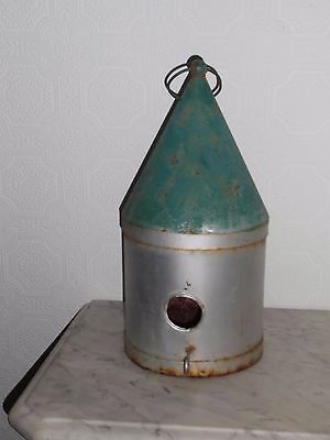 Vintage Enamel Gothic/witches Hat Bird House