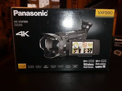 Panasonic HC-VXF990 4K Ultra HD Camcorder + VW-ACT380 + Rode + 64GB