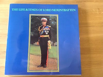 the life and times of Lord Mountbatten 3 lp's  lm101