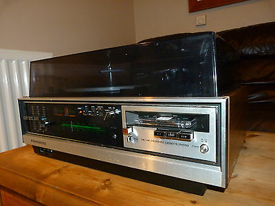 Vintage Panasonic Music Centre RS-257AS Record Deck Tuner Amp Tape