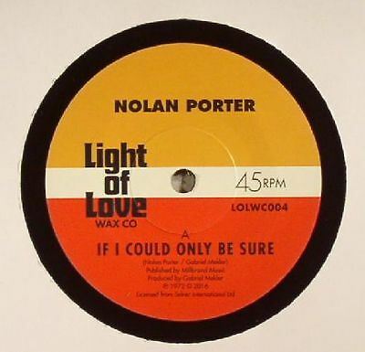 """PORTER, Nolan - If I Could Only Be Sure - Vinyl (7"""")"""
