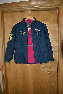 Girls' Joules H_Jnr King Jacket size 9-10 years navy