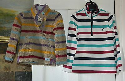Joules tops 4 y and 6 y girl's