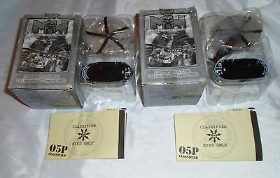 Mechwarrior Death From Above 43 Robert Bavros and 47 Jaquelin Pejiko Mint Boxed