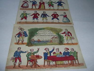 Vintage  Toy Theatre Sheets - Charles the Second - Pollocks
