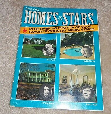 Music City's Homes Of The Stars Over 140 Photos Of Country Music Stars 1975