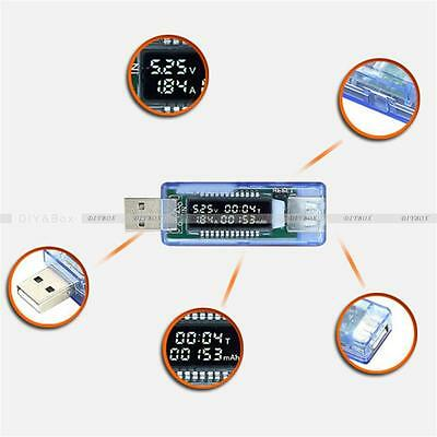 USB Charger Medical Power Detector Test Of battery of Current Voltage Tester New