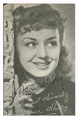 Authentic Signed Autographed Anne Shirley Photo Of Green Gables & Stella Dallas