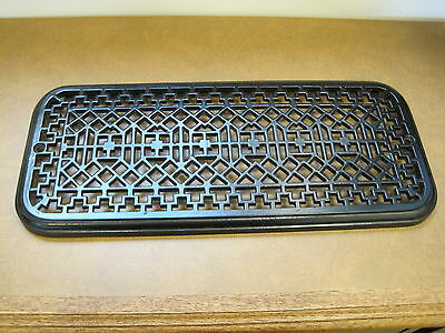 Antique 1900 radiator top for a drying or display shelf