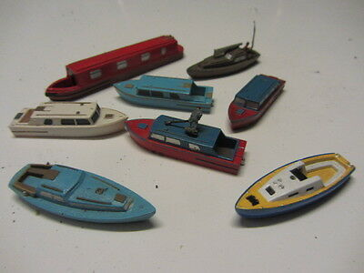 N  GAUGE MODEL BOATS ALL NEW UN USED (N scale)