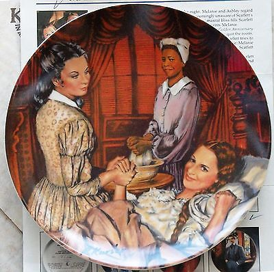 Melanie Gives Birth * Gone with the Wind * Knowles limited ed #14600A New in Box