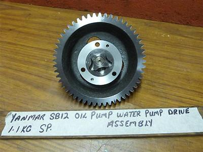 Yanmar SB12 SVE12 Oil Pump Raw Water Pump Drive Assembly