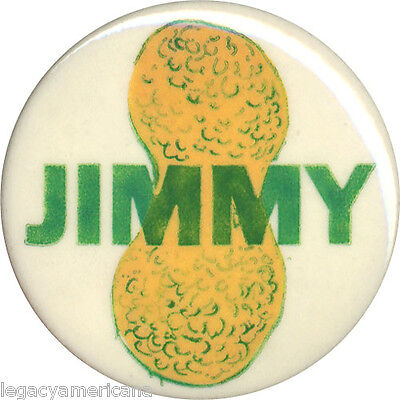 Classic 1976 Campaign JIMMY Carter Peanut Button (1972)