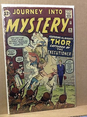 Journey Into Mystery #84 2nd Appearance Of Thor