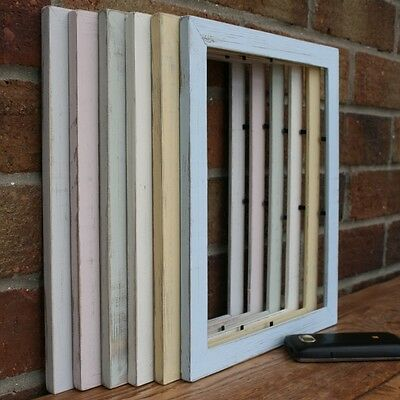 Photo/Picture Frame Handmade Shabby Chic/Distressed/Rustic 6 Colours/ 7 sizes