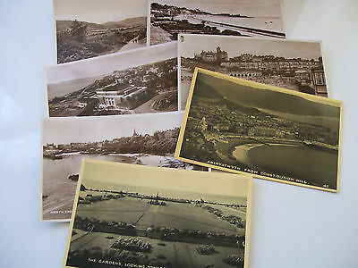 Nice Collection of 7x 1940 Vintage Black/ White Postcards