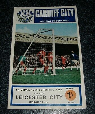 Cardiff v Leicester 1969/70