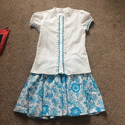 lovely girls skirt and top set age 12 years