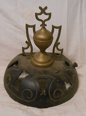 Antique Top And Finial For Fancy Hero Cast Iron Wood Stove#118 1885