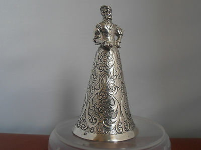 Very Unusual 19Th Century Solid Silver Wager / Stirrup Cup In The Form Of A Man