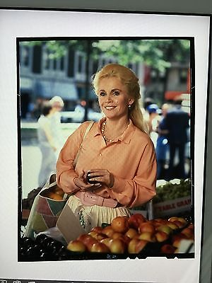 TV122 TUESDAY WELD 1980s Promotional 4x5 Transparency
