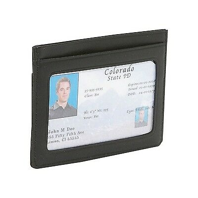 Royce Leather Men's Mini ID And Credit Card Holder