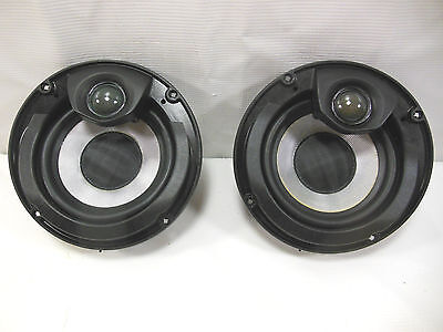 "OEM Harley Davidson Round 5.25"" Speaker Assembly Pair  PN 76000286  #B1549"