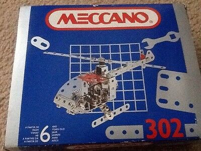 Meccano 302 Helicopter Construction Kit