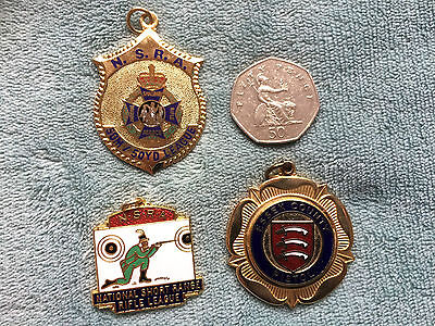 3 x various Shooting Medals