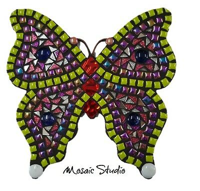 Mosaic Lime Butterfly Medium Kit-Set