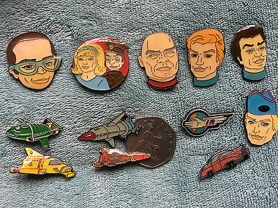 Thunderbirds Pin Badges